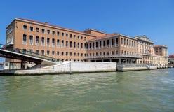 Venice - Fondamenta Santa Lucia Royalty Free Stock Photography