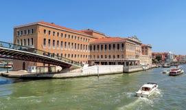 Venice - Fondamenta Santa Lucia Stock Photos