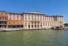 Venice - Fondamenta Santa Lucia Stock Photo