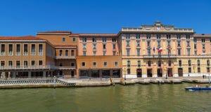 Venice - Fondamenta Santa Lucia Royalty Free Stock Photo