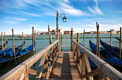Venice footbridge Stock Photos