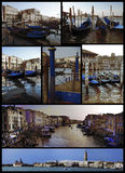 Venice in Gold and Blue Stock Photos