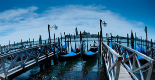 Venice, Gondels Royalty Free Stock Images