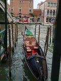 Venice - Gondola stock image