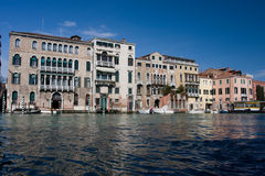 Venice from gondola Stock Images