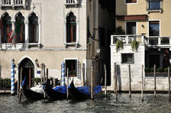 Venice gondola Stock Photo