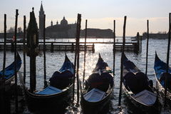 Venice gondola Royalty Free Stock Photos