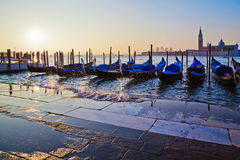 Venice at sunrise Royalty Free Stock Photos