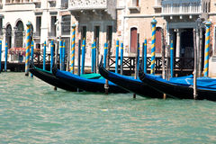 Venice gondola park Royalty Free Stock Photography