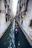 Venice Gondola Ride Stock Images