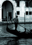 Venice - Gondola Series. Part of the make-up of Venice are the Gondolas and the Gondaliers Royalty Free Stock Photos