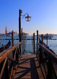 Venice gondola. Very romantic and colorful streets in Venice. You can feel the art on every corner Stock Images