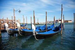 Venice Gondolas Stock Image