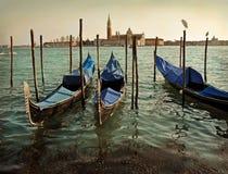 Venice and gondolas Stock Photos