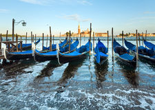 Venice gondolas Royalty Free Stock Photos