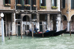 Venice gondolas Royalty Free Stock Photography