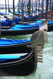 Venice Gondolas Stock Photography