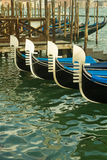 Venice gondolas Royalty Free Stock Photo