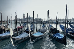 Venice gondolas Stock Photo