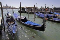 Venice and gondolas Royalty Free Stock Photo