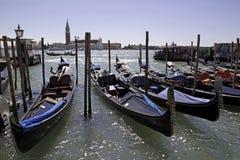 Venice and gondolas Stock Photo