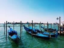 Venice. Gondolas in Venice, Italy Royalty Free Stock Photo