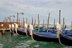 Venice gondolas, Italy Stock Photos