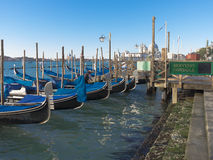 Venice gondolas Royalty Free Stock Photography