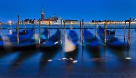 Venice Gondolas Set Pan Stock Image