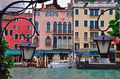 Venice gondolas station Royalty Free Stock Photography