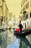 Venice gondolier Stock Images