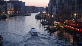 Venice Grand Canal stock video footage