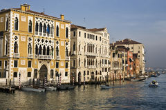 Venice grand canal Stock Photo