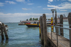 In Venice (the Grand Canal) Royalty Free Stock Photography