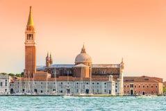 Venice Grand Canal and Basilica Santa Maria della salute Royalty Free Stock Images