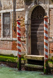 Venice, Grand Canal and historic tenements Royalty Free Stock Image