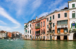Venice Grand canal, Italy Stock Photography