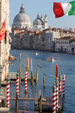 Venice with Grand canal in Italy Stock Photography