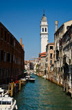 Venice Canal. Grand Canal in Venice, Italy Stock Images