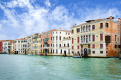Venice Grand Canal, Italy Stock Image