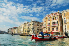 Venice. Grand canal in italy Stock Photography