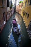 In Venice, on the Grand Canal, Italy. In Venice, on the Grand Canal Royalty Free Stock Photos
