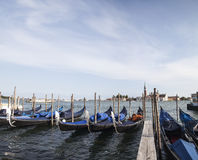 In Venice, on the Grand Canal, Italy. In Venice, on the Grand Cana Royalty Free Stock Image