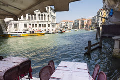 Venice,grand canal Royalty Free Stock Photos