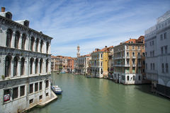 Venice. Grand Canal, Italy. Royalty Free Stock Image