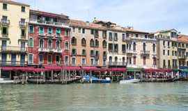Venice. Grand Canal, Italy. Royalty Free Stock Photo