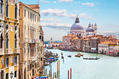 Venice. Grand Canal Stock Photo