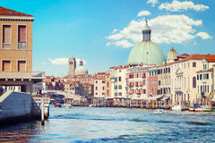 Venice. The Grand Canal Royalty Free Stock Images