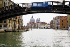 Venice. The Grand canal. Stock Images