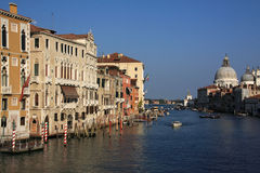 Venice Grand Canal panorama Royalty Free Stock Photography